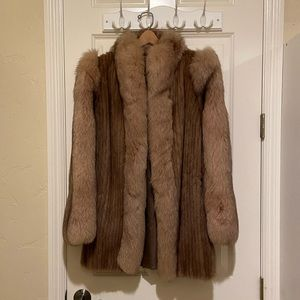 Jackets & Blazers - Vintage 100% Real Mink Coat